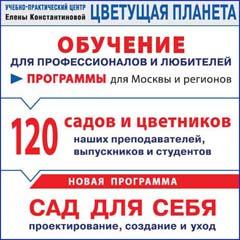 Учебно-практический центр Елены Константиновой ЦВЕТУЩАЯ ПЛАНЕТА